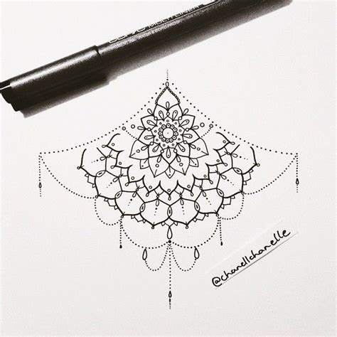 sternum tattoo mandala tumblr 17 best images about tinta on pinterest triangle tattoos