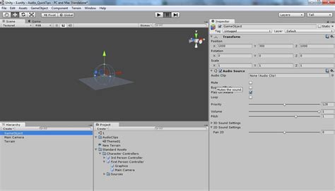 unity inspector layout unity quick tips for implementing audio the sound