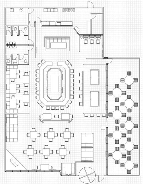 kitchen restaurant floor plan 25 best ideas about open kitchen restaurant on pinterest