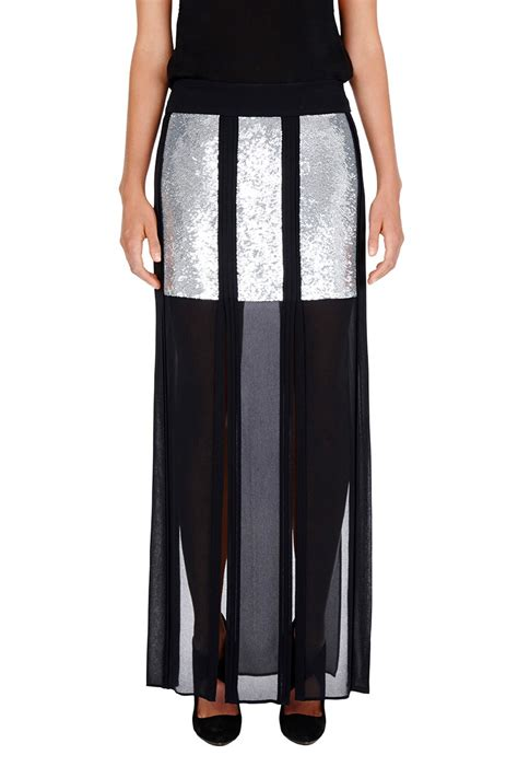 sass bide maxi skirt in blue lyst