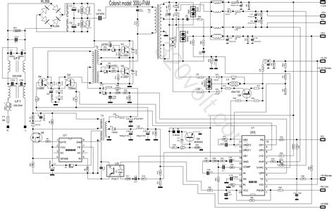12 volt switching power supply schematic get free image