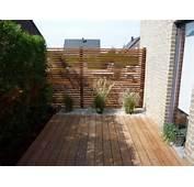Terrasse En Bois Ip&233 Avec Fixation B Fix Et Un Bardage Ajour&233