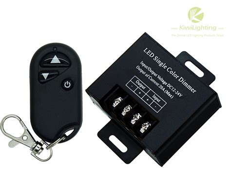 wireless led dimmer single color 1 output channel dc 12