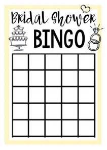 best 25 bridal shower bingo ideas on bridal