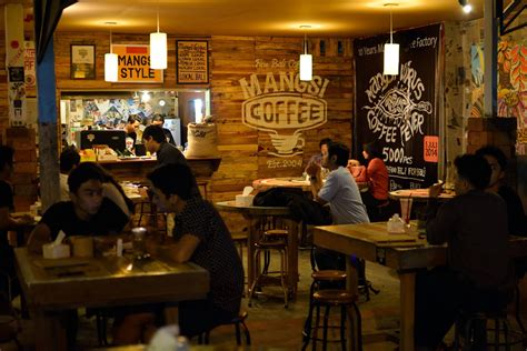 design cafe di indonesia on bali mangsi serves indonesian coffee with global appeal