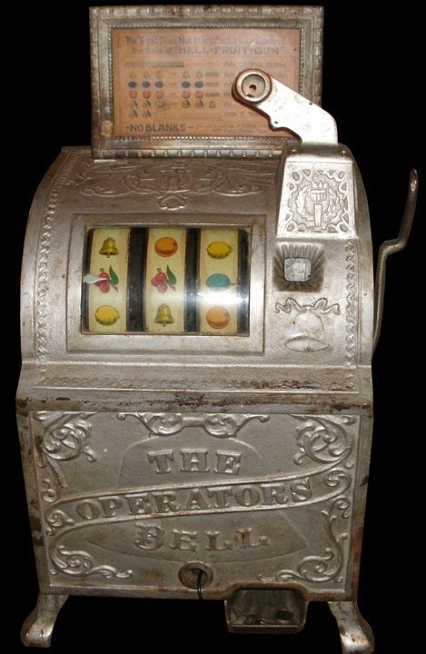 antique slot machine history commentary blog hey