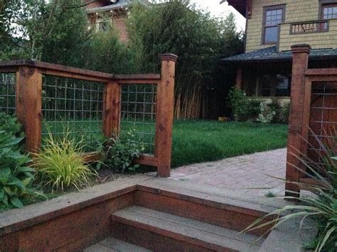 fence ideas for large yard creative ideas for garden fence design diy magazine1 excerpt painting color clipgoo