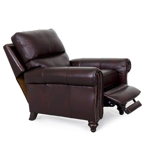 lounge recliner barcalounger dalton ii recliner chair leather recliner