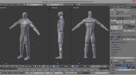 tutorial blender human blender 3d human models bing images