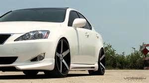 lexus is250 on 20 quot vossen vvs cv3 concave wheels rims