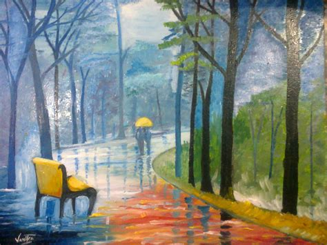 painting for s day painting of a rainy day desipainters