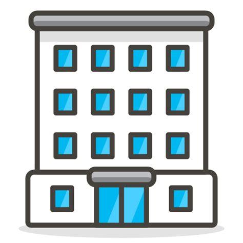 buero gebaeude kostenlos symbol von   vector emoji