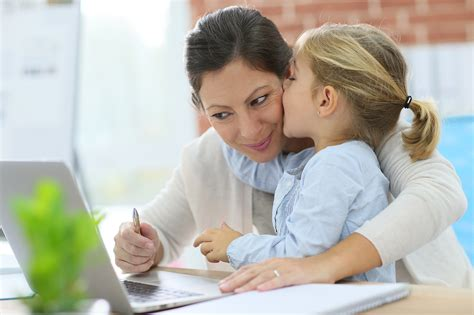 mom s kids benefit from having working moms popsugar moms