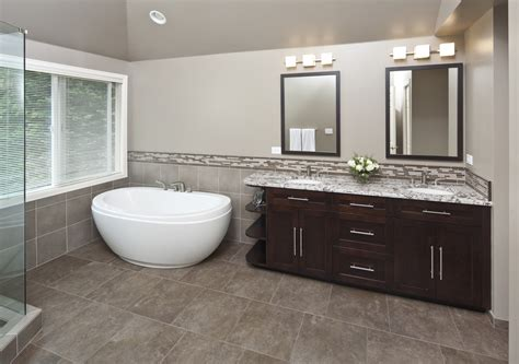Bathroom Floor Tile Design Ideas small freestanding tub bathroom contemporary with none