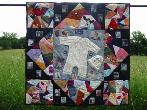 How To Make Quilt Out Of Baby Clothes by Simple Keepsake Ideas Made With Baby Clothes