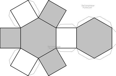 figuras geometricas usadas en la arquitectura recortable hexagono dibujos para cortar y colorear