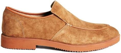 classic hush puppies shoes hush puppies 174 classic slip on shoes in brown for lyst