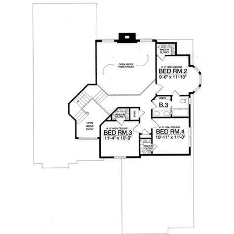 2500 square feet 4 bedrooms 2 189 batrooms 3 parking space european style house plan 4 beds 2 50 baths 2500 sq ft