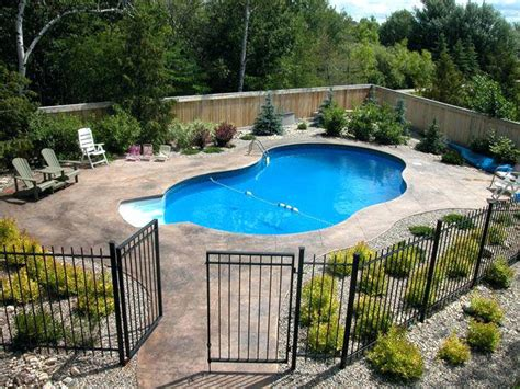 inground pool fence idea bullyfreeworld com