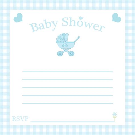 free baby invitation template free baby shower