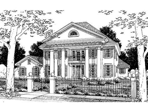 eplans greek revival house plan no square inch unengaged eplans greek revival house plan four bedroom greek