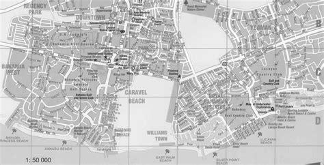 freeport map island and city maps the caribbean stadskartor och