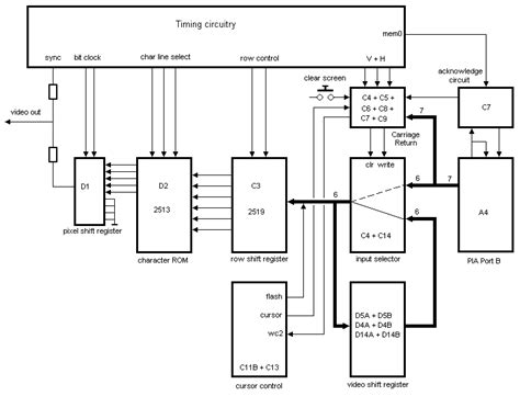 terminal block diagram sb projects projects apple 1 terminal