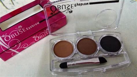 3 In 1 Obuse Eyebrow Powder Made Thailand obuse eyebrow powder 11street malaysia eyebrow colour