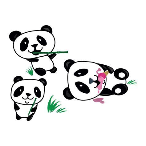 panda wall stickers hungry pandas wall sticker panda wall stickers