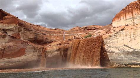 boat r closures canyon lake lake powell glen canyon flash flooding youtube