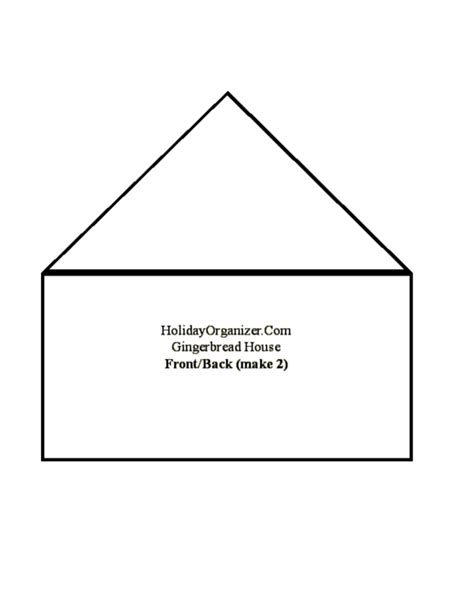 two story gingerbread house template make a gingerbread house organized
