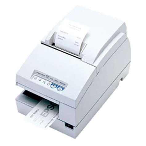 Printer Validasi epson tmu675 receipt check validation and slip printer