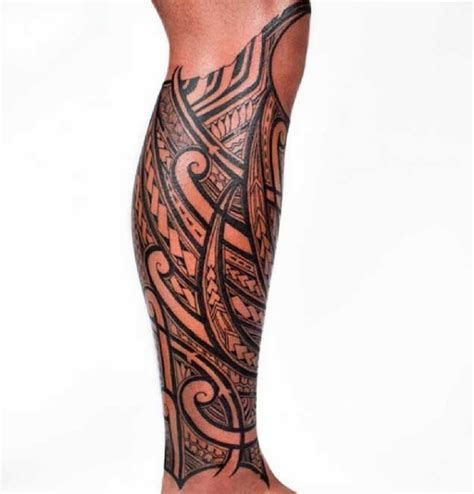 mens leg tribal tattoos 30 ridiculously amazing tribal tattoos by california