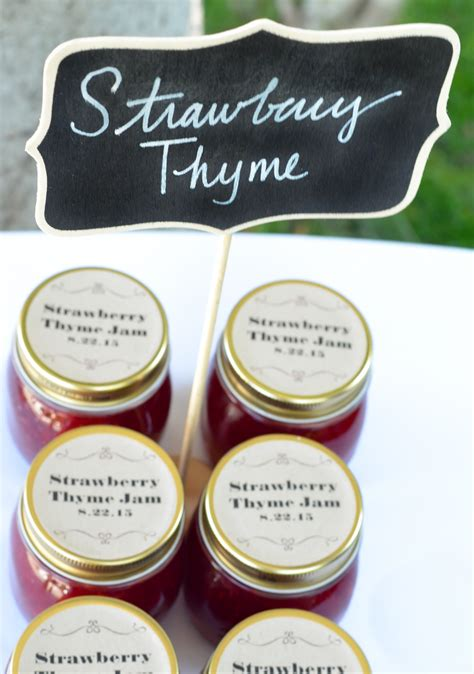 Wedding Favors Store by Strawberry Thyme Jam Wedding Favors S Morsels