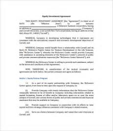 investment contract template 9 investment contract templates free word pdf