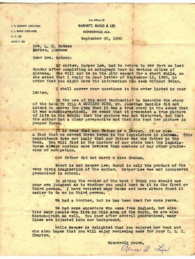business letter to kill a mockingbird 17 best images about teaching to kill a mockingbird on