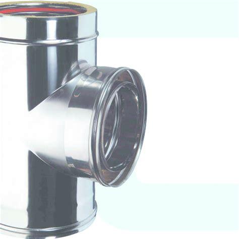 conduit de fum 233 es paroi en acier inox dw25 tubest