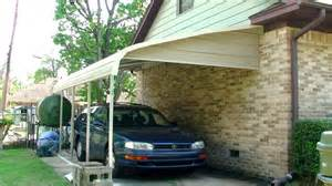 Carports Attached To House by Carport Installation 2012 Youtube