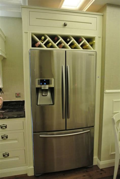 Kitchen Wine Cabinets Best 25 Built In Wine Rack Ideas On Kitchen Wine Racks Built In Bar And