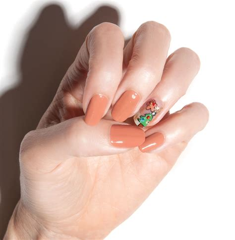 A Nail by Nail Tutorial Gingerbread Galore Nail It