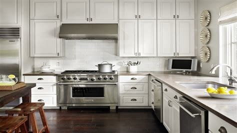 Kitchen Cabinets With Countertops by White Kitchens Concrete Kitchen Countertops With