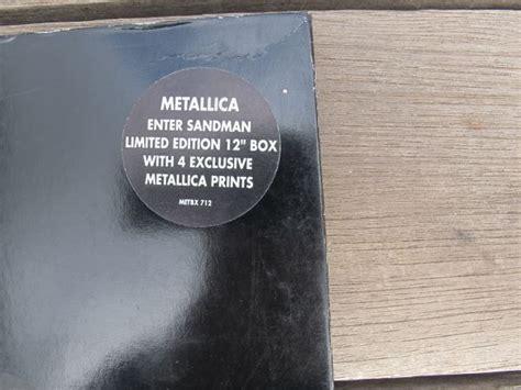 sandman nm 01 preludios 8417071733 metallica enter sandman ltd ed 12 quot box with prints nm vg rare mr vinyl
