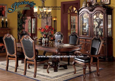 Meja Makan Klasik meja makan jepara klasik smm 038 kursi makan jepara