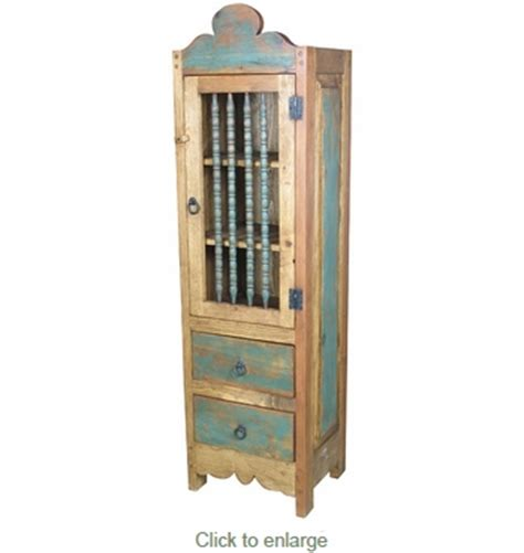 skinny armoire skinny santa fe style armoire painted wood
