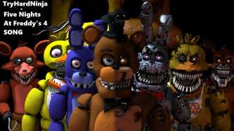 Sfm fnaf five nights at freddy s 4 song by tryhardninja youtube