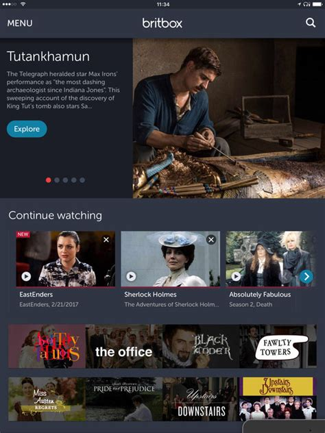 britbox on tv britbox the most british tv anywhere anytime on the app