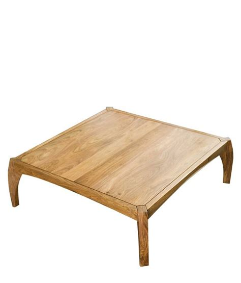 low height coffee table in brown buy at best price