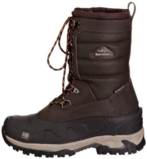 karrimor bering mens snow boots karrimor snow fur weathertite s snow boots illinois