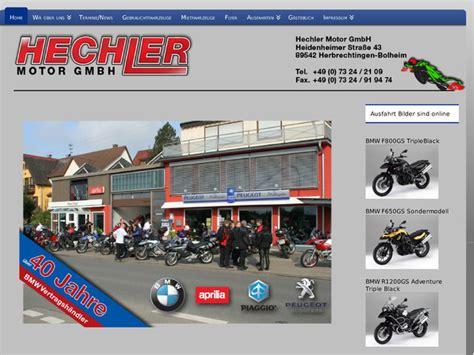Sachs Motorrad H Ndler Hamburg by Hechler Motor Gmbh In Herbrechtingen Motorradh 228 Ndler