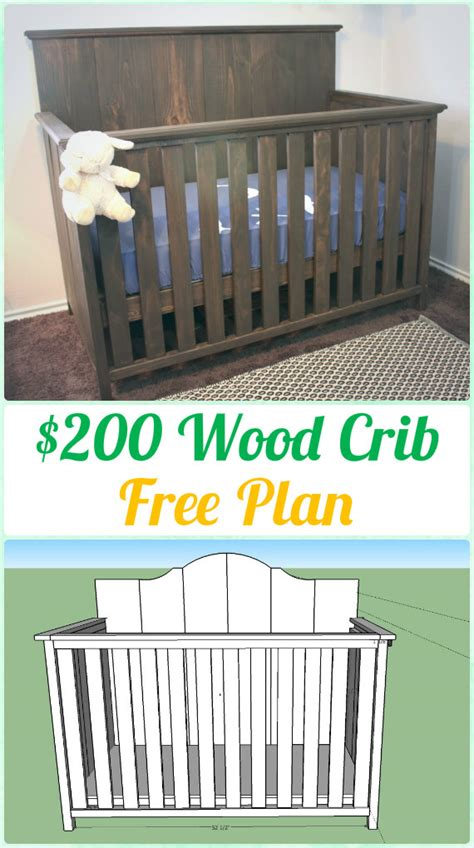 diy baby crib projects free plans